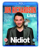 JON RICHARDSON LIVE 2014 - NIDIOT (UK) BLU-RAY