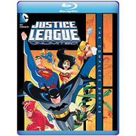 JUSTICE LEAGUE UNLIMITED: THE COMPLETE SERIES BLU-RAY