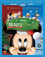 MICKEY'S ONCE UPON A CHRISTMAS MICKEY'S TWICE BLU-RAY