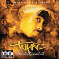 2PAC - RESURRECTION SOUNDTRACK CD
