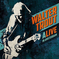 WALTER TROUT - ALIVE IN AMSTERDAM CD