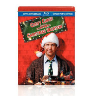 CHRISTMAS VACATION (COASTERS,) (SANTA) (&) (BUTTON) BLU-RAY