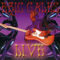 ERIC GALES - LIVE (+DVD) CD
