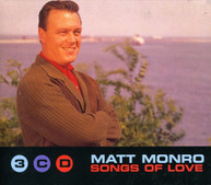 MATT MONRO - SONGS OF LOVE (3 CD) (SET) (UK) CD
