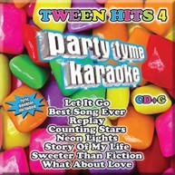 PARTY TYME KARAOKE: TWEEN HITS 4 VARIOUS CD