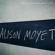 ALISON MOYET - MINUTES AND SECONDS (LIVE) CD