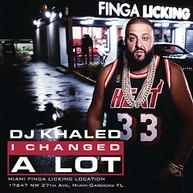 DJ KHALED - I CHANGED A LOT (CLEAN) CD