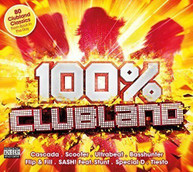 100% CLUBLAND VARIOUS (UK) CD