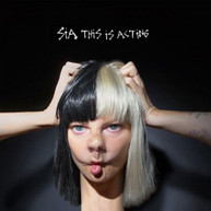 SIA - THIS IS ACTING - CD