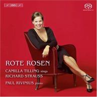 R. STRAUSS TILLING RIVINIUS WALLIN - ROTE ROSEN - ROTE ROSEN - SACD