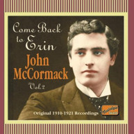 JOHN MCCORMACK - COME BACK TO ERIN (IMPORT) CD