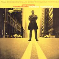 HERBIE HANCOCK - INVENTIONS & DIMENSIONS (BONUS TRACK) CD