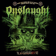 ONSLAUGHT - LIVE AT THE SLAUGHTERHOUSE (+DVD) CD