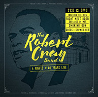 ROBERT CRAY - 4 NIGHTS OF 40 YEARS LIVE (+DVD) CD