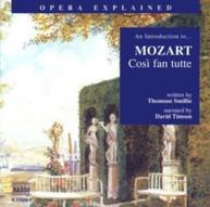 MOZART - COSI FAN TUTTE: INTRODUCTION TO MOZART CD