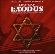 EXODUS -WORLD PREMIER COMPLETE SCORE SOUNDTRACK (UK) CD