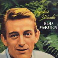 ROD MCKUEN - ANYWHERE I WANDER (UK) CD