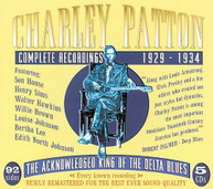 CHARLEY PATTON - COMPLETE RECORDINGS 1929-34 - CD