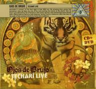 OJOS DE BRUJO - TECHARI LIVE (+DVD) CD