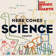 THEY MIGHT BE GIANTS - HERE COMES SCIENCE (+DVD) CD