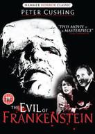 EVIL OF FRANKENSTEIN (UK) DVD