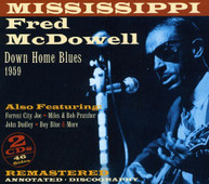 MISSISSIPPI FRED MCDOWELL - DOWNHOME BLUES 1959 CD
