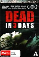 DEAD IN THREE DAYS (2006) DVD