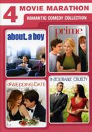 4 MOVIE MARATHON: ROMANTIC COMEDY COLLECTION (2PC) DVD