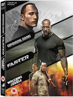 FASTER / GRIDIRON GANG / WELCOME TO THE JUNGLE (UK) DVD