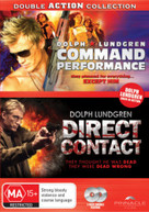 COMMAND PERFORMANCE / DIRECT CONTACT (DOLPH LUNDGREN) (2009) DVD