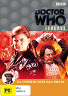 DOCTOR WHO: SURVIVAL (1989) DVD