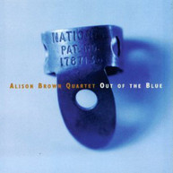 ALISON BROWN - OUT OF THE BLUE CD