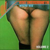 VELVET UNDERGROUND - LIVE 2 CD