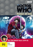 DOCTOR WHO: PLANET OF EVIL (1975) DVD