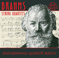 BRAHMS PHILHARMONIA QUARTETT BERLIN - DIE STREICHQUARTETTE CD