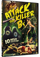 ATTACK OF THE KILLER BS: 10 B -MOVIE PACK (3PC) DVD