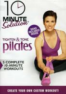 10 MS: TIGHTEN & TONE PILATES W/BAND DVD