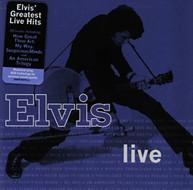 ELVIS PRESLEY - ELVIS LIVE CD