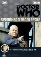 DOCTOR WHO: SPEARHEAD FROM SPACE (1969) DVD