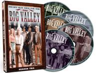 BIG VALLEY: SEASON TWO DVD