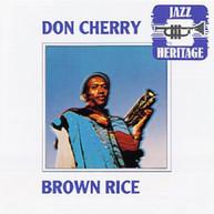 DON CHERRY - BROWN RICE CD
