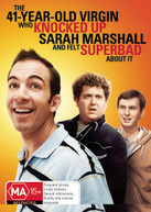 41 YEAR OLD VIRGIN WHO KNOCKED UP SARAH MARSHALL AND FELT SUPERBAD ABOUT IT DVD