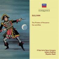 D'OYLY CARTE OPERA COMPANY - GILBERT & SULLIVAN: THE PIATES OF PENZANCE CD