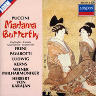 PUCCINI PAVAROTTI FRENI KARAJAN - MADAME BUTTERFLY [HIGHLIGHTS] CD