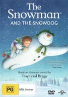 THE SNOWMAN AND THE SNOWDOG (2015) DVD