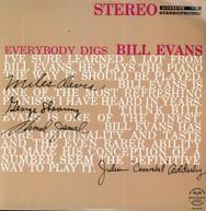 BILL EVANS - EVERYBODY DIGS BILL EVANS - VINYL
