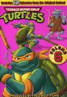 TEENAGE MUTANT NINJA TURTLES: SEASON 6 DVD