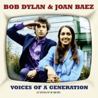 BOB DYLAN & JOAN BAEZ - VOICES OF A GENERATION (UK) VINYL