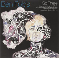 BEN FOLDS - SO THERE VINYL