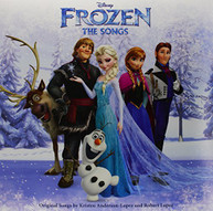 FROZEN: THE SONGS VARIOUS VINYL